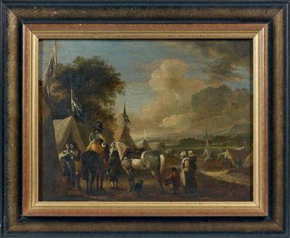 Attribué à Pieter WOUWERMAN (1623- 1682)