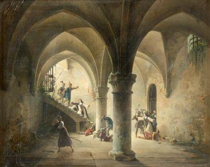 Charles Louis LESAINT (Paris 1795 - 1843)