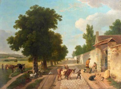Ecole FRANCAISE du XVIIIème siècle, atelier de Jean Louis DEMARNE