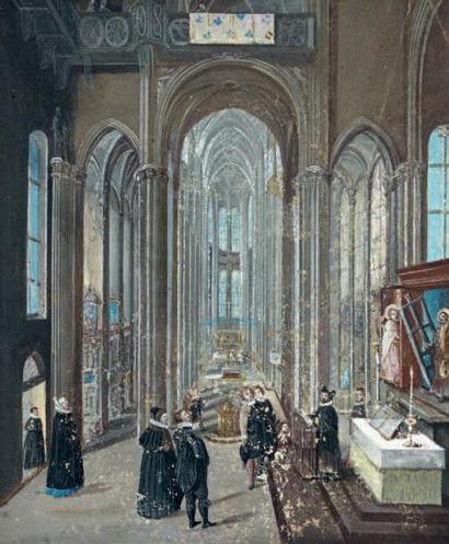 Peeter NEEFS le VIEUX (Anvers vers 1578 - vers 1656)