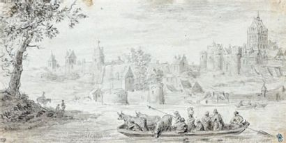 Attribué à Jacob RUISDAEL (vers 1628 - 1682)