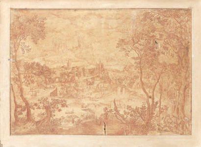 Ecole FLAMANDE du XVIIème siècle Le