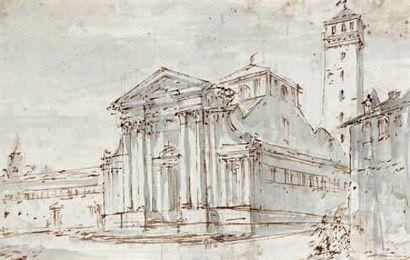 Attribué à Giuseppe GALLIARI (? - Milan 1817)