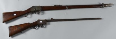 Fusil d?infanterie anglais Enfield 1880;...