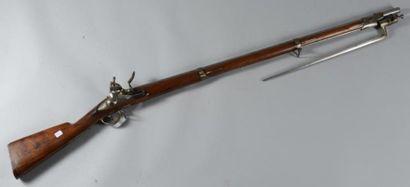 Fusil d?infanterie, modèle 1822 T bis, remonté...