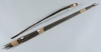 Lot de treize lames d?épées du XVIIe au XIXe...