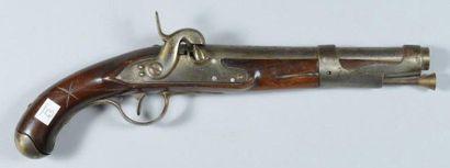 Pistolet à silex de cavalerie modèle 1763/66,...