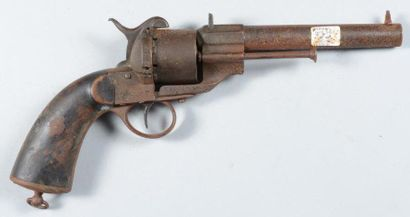 Revolver de type 1858, à broche, calibre...