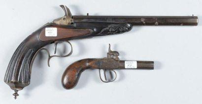 Pistolet système Flobert calibre 8mm (accidents...