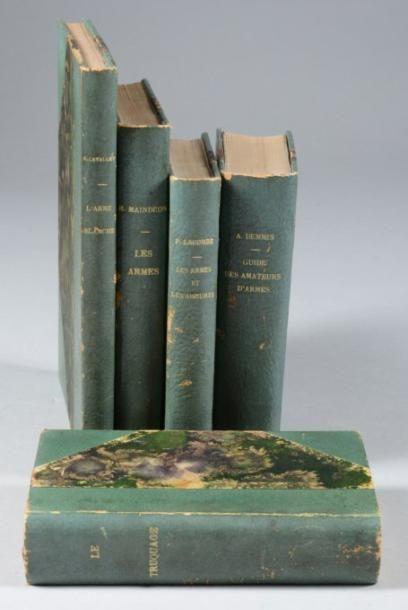 Lot de cinq ouvrages: DEMMIN, «Guide des...