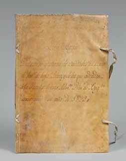 [TABAC - COLOMBIE / MANUSCRIT]. «Libro Mayór....