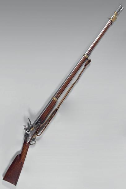 Rare fusil à silex d'infanterie de la garde...
