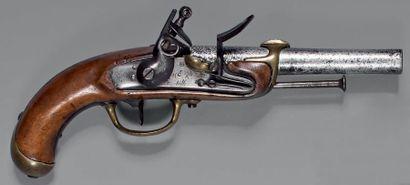 Pistolet à silex de marine modèle 1779, 1er...