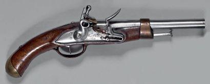Pistolet à silex de marine modèle 1786, 2e...