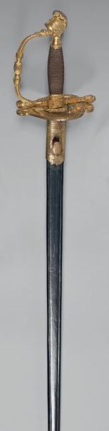 Épée d'officier supérieur de marine modèle...