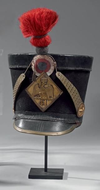 Shako de sous-officier du 41e régiment d'infanterie...