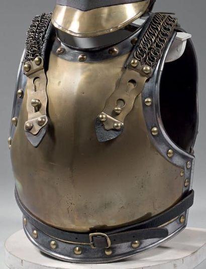 Cuirasse de carabinier troupe modèle 1812,...