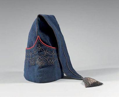 Bonnet de police d'officier de cavalerie...