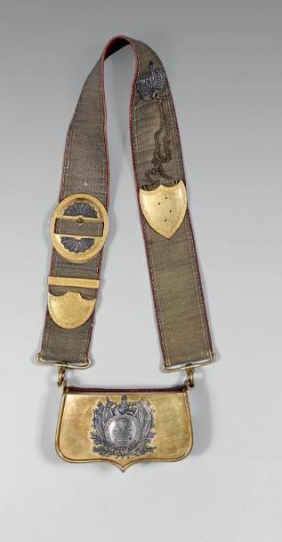 Giberne du 2e régiment de chevau-légers lanciers...