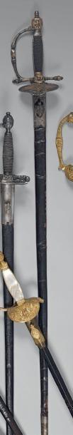 Épée fantaisie de commissaire des guerres,...
