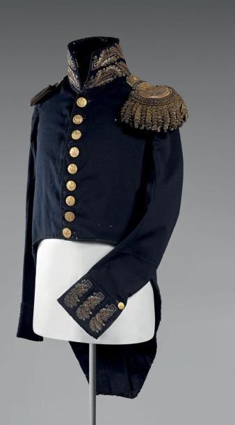 Habit de petit uniforme d'adjudant-commandant...