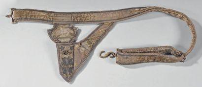 Ceinturon porte-épée de cérémonie de général...