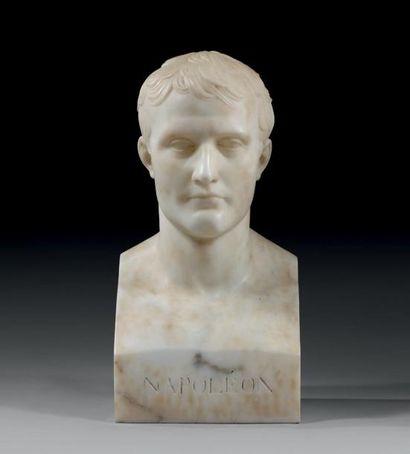 Chaudet, d'après: Buste de l'Empereur Napoléon...