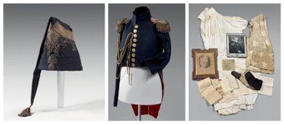 Habit de petite tenue, surtout, d'officier...