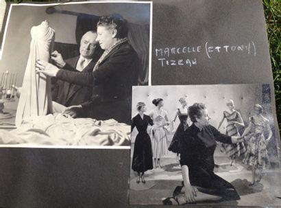 Rare album de photographies concernant Marcelle...