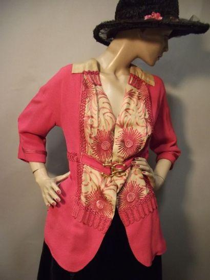Veste de tailleur d'été, Jeanne PAQUIN, 1913....