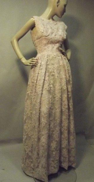 Robe du soir, Maison Joséphine, vers 1955....