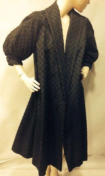 Manteau du soir, anonyme, vers 1950. Ottoman...