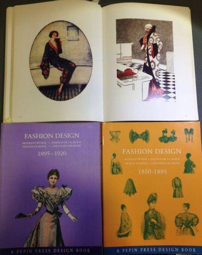 Fashion Design. Trois volumes en 240 ou 380...