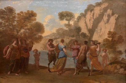 Attribué à Andrea DI LIONE (1610 - 1685)