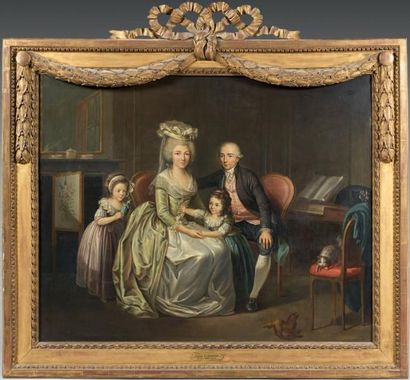 Charles LE PEINTRE (Paris 1735 - 1803)