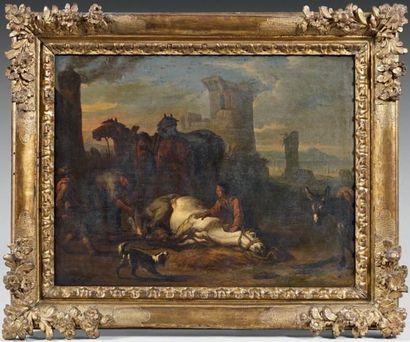 Pieter van BLOEMEN (Anvers 1657 - 1720)
