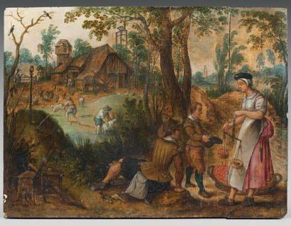 Ecole Flamande vers 1630