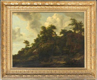 Ecole HOLLANDAISE vers 1700, suiveur de Jacob van RUISDAEL