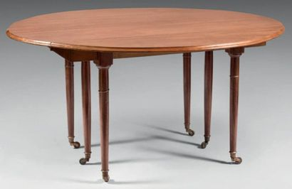 Table de salle à manger à deux abattants...