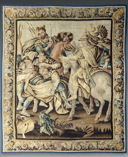 Tapisserie d'AUBUSSON représentant Poros...