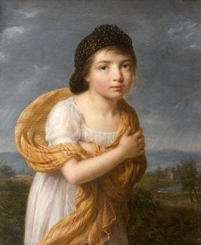 Attribué à Jeanne Elisabeth CHAUDET (1767 - 1832)