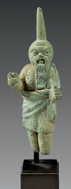 Statuette représentant un comédien jouant...