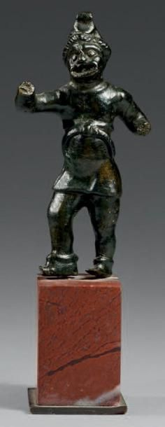 Statuette d'acteur (peson?) dans l'attitude...