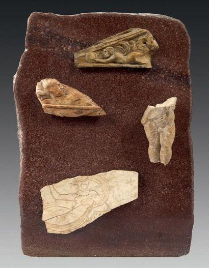 Composition faite à partir de fragments d'os...