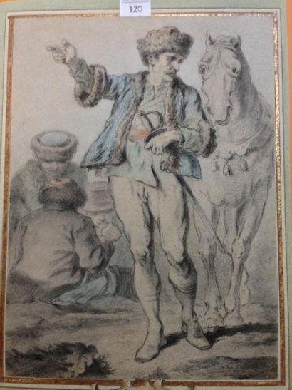 Charles PARROCEL (Paris 1688- 1752)
