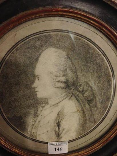 Attribué à Augustin de SAINT AUBIN (1736 - 1807)