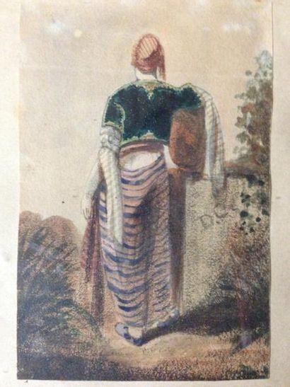 Alexandre- Gabriel DECAMPS (Paris 1803- Fontainebleau 1860)
