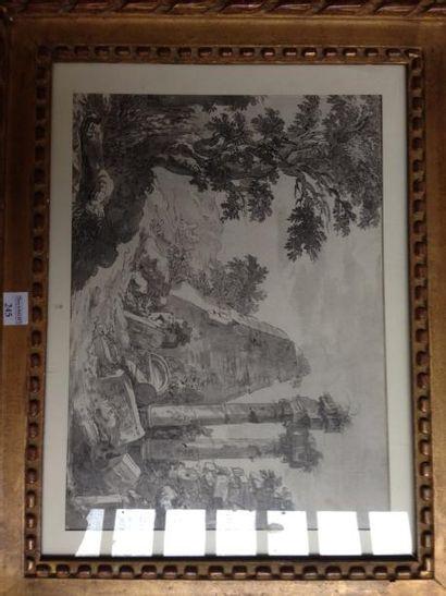 Attribué à Jean - Baptiste LALLEMAND (vers 1710 - 1803)
