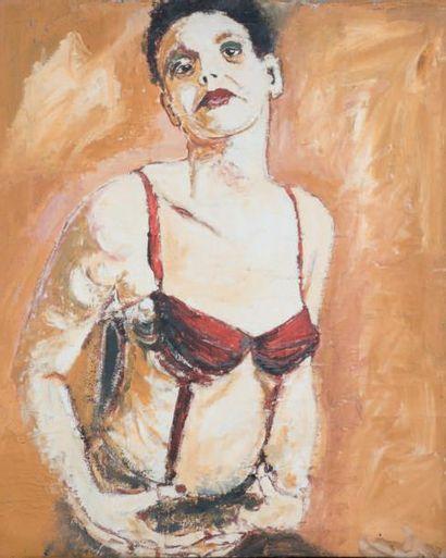 La femme, 1995 Technique mixte sur toile,...