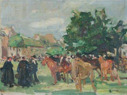 Lucien SIMON (1861 - 1945)